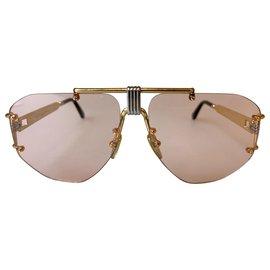Céline-2018 aviator sunglasses-Pink