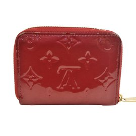 Louis Vuitton-Louis Vuitton Zippy-Rouge