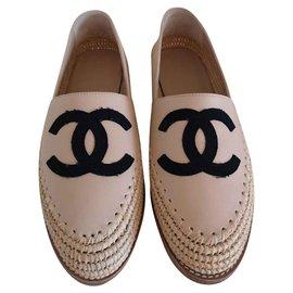 Chanel-Espadrilles-Beige