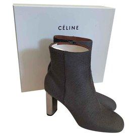 Céline-Bottines-Gris
