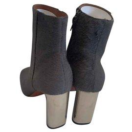 Céline-Ankle Boots-Grey