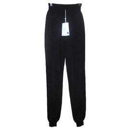 Azzaro-Pantalons, leggings-Noir