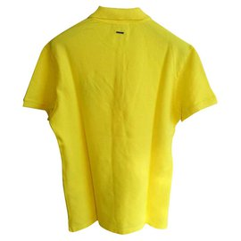 Byblos-BYBLOS NEW MEN'S YELLOW POLO SHIRT-Yellow