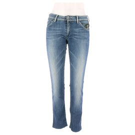 Pepe Jeans-Jeans-Bleu Marine