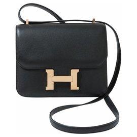 Hermès-HERMES CONSTANCE MINI-Noir