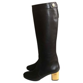 Céline-Ridding boots-Brown