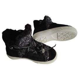 Anniel-anniel boots small 26-Black