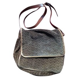 Bottega Veneta-vintage bottega veneta shoulder bag-Dark brown