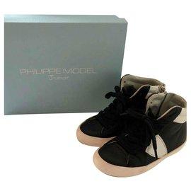 Philippe Model-Philippe Model Sneakers-Schwarz
