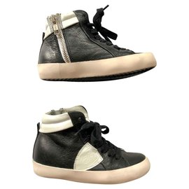 Philippe Model-Philippe Model sneakers-Black