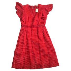 Maje-Dresses-Red