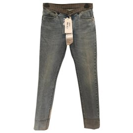 Maison Martin Margiela-Artisanal 2004 reedition jeans-Blue