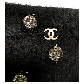 Chanel-Jupe en maille marine Chanel-Bleu Marine
