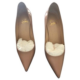 Christian Louboutin-pigalle follies-Beige