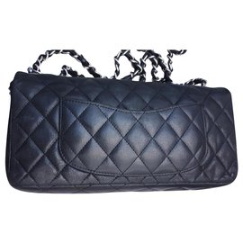 Chanel-Chanel Reissue chanel bag 2.55-Black,Metallic