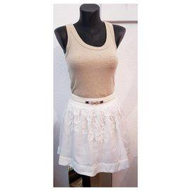 Chloé-Mini skirt chloé size 14/S-White