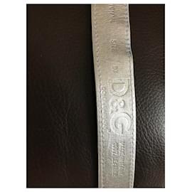 Dolce & Gabbana-Ceintures-Blanc