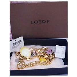 Loewe-Gold plated belt limited edition-Multiple colors,Golden