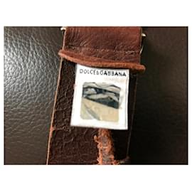 Dolce & Gabbana-Ceintures-Marron