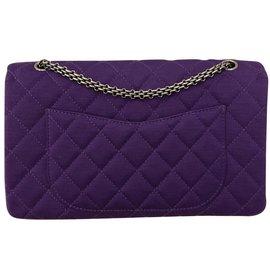 Chanel-Reissue 2.55-Purple