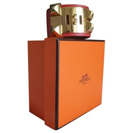 Hermès-CDC collier de chien-Orange