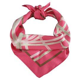 Hermès-Bolduc rose-Rose