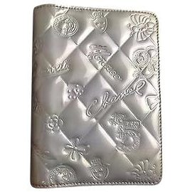 Chanel-Chanel Notebook Cover-Silvery
