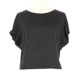 Balenciaga-Blouse-Noir