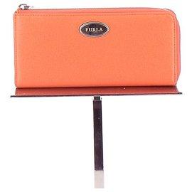 Furla-Portefeuille-Orange