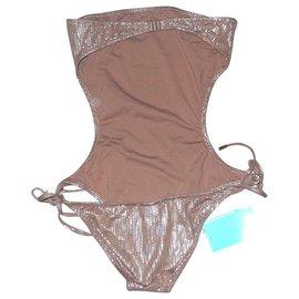 Melissa Odabash-Swimwear-Light brown
