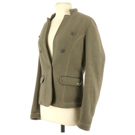 Ikks-Jacket-Dark green