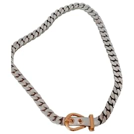Hermès-the belt-Silvery