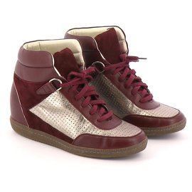 Sandro-Sneakers-Bordeaux