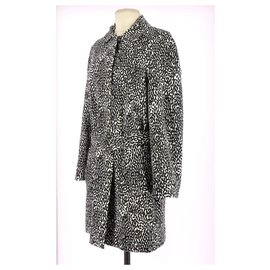Diane Von Furstenberg-Coat-Black