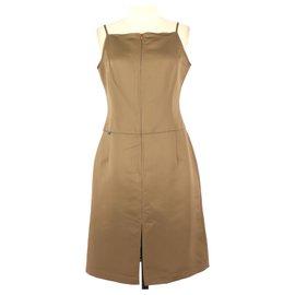 Christian Lacroix-Dress-Brown