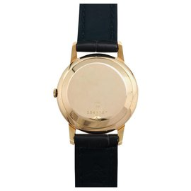 Jaeger Lecoultre-Jaeger Lecoultre watch in pink gold on leather.-Other