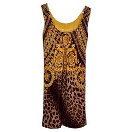 Gianni Versace-Jackets-Leopard print