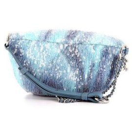 Chanel-Chanel Sequin Bum Bag-Blue