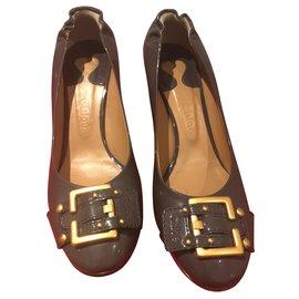 Chloé-Sandals-Grey