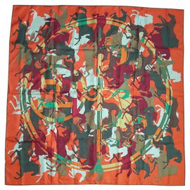 Hermès-Ex-Libris en Camouflage-Orange