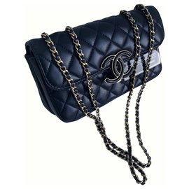 682268e90458 ... Chanel-2018 Avec carte ,Boite, dustbag!-Noir,Bleu Marine,