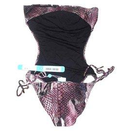 Melissa Odabash-Swimwear-Python print