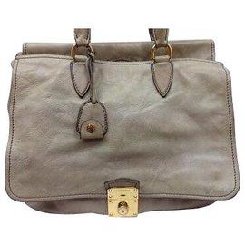 Miu Miu-Miu Miu Vintage Shoulder Bag-Beige ... a73872dfbc284