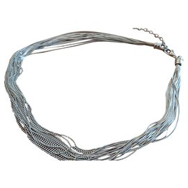 Autre Marque-Agatha necklace-Silvery