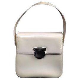 51da6df74331 Salvatore Ferragamo-Salvatore Ferragamo Vintage Handbag-White ...