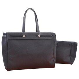 Hermès-Hermès Vintage Sac à bandoulière-Noir