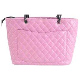 Chanel-Sac cabas Chanel Cambon-Rose