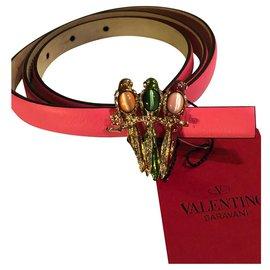 Valentino Garavani-Ceinture Valentino-Rose