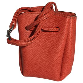 Hermès-Pochette Hermès Vintage-Rouge