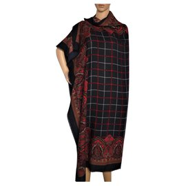 Burberry-Foulards de soie-Multicolore